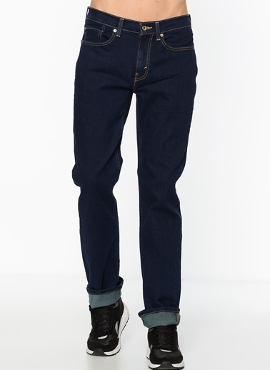Levi's® Jean Pantolon | 514 - Regular Straight Lacivert